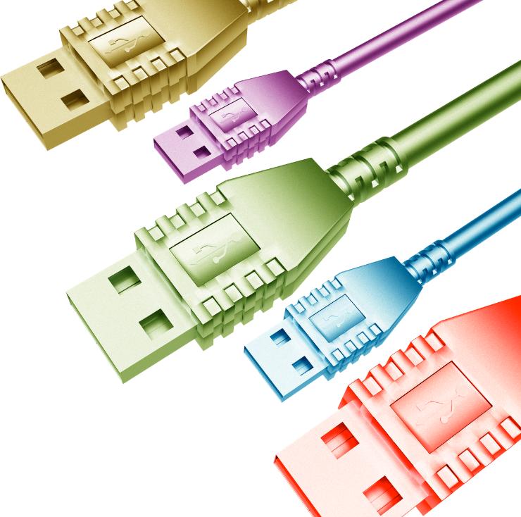 branchement-et-raccordements-techniques-des outils-multimédias USB 740