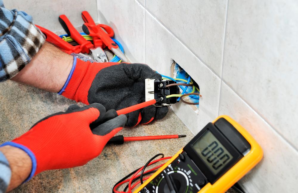 chantier-risques-électrocution